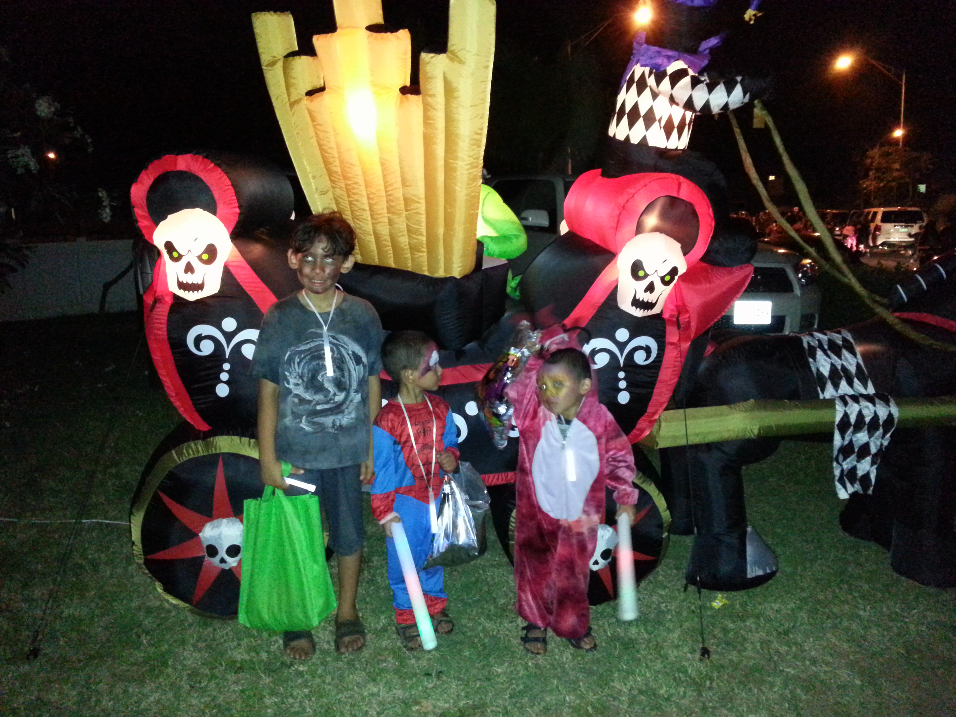 Halloween – Fun with my Family!