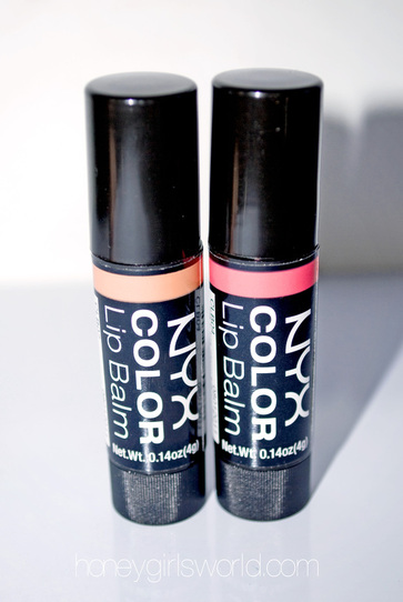 NYX COLOR Lip Balm – Video Review, Swatches and more!