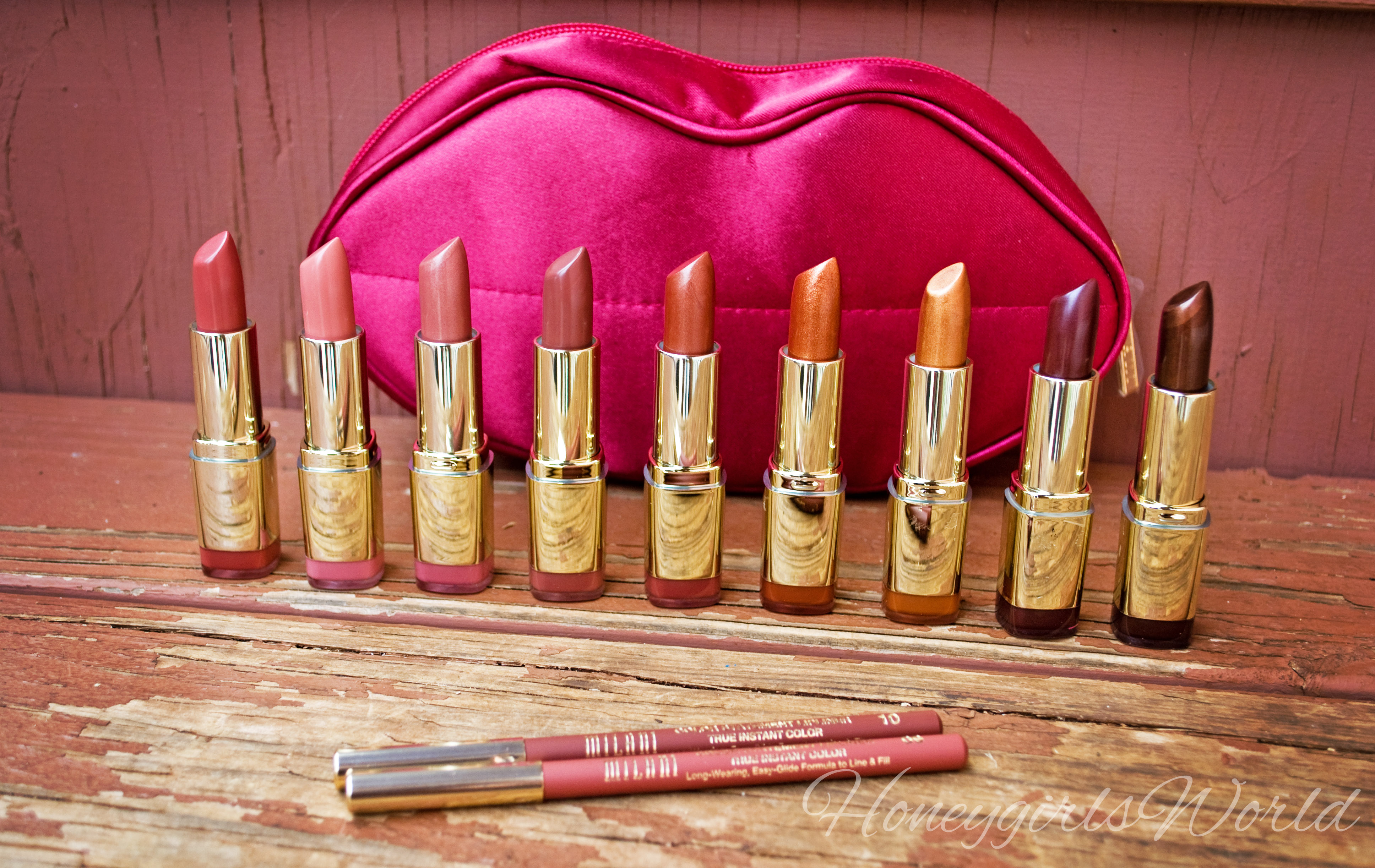 Milani Color Statement Lipsticks – Plums & Nudes (Pic Heavy)