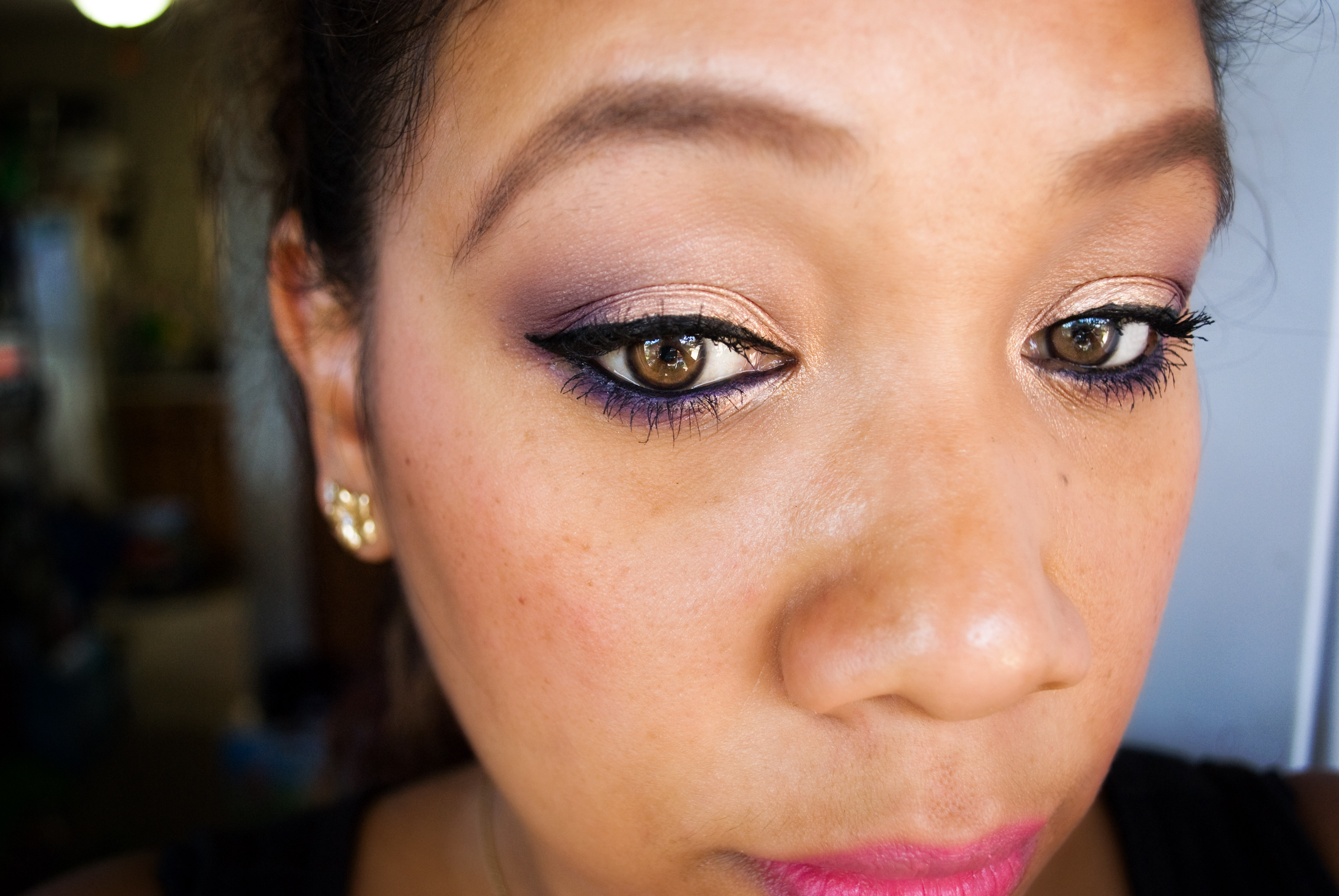 GRWM – Purple & Gold Makeup Look using Hello Kitty Wild Thing Palette (and a little chit chat)