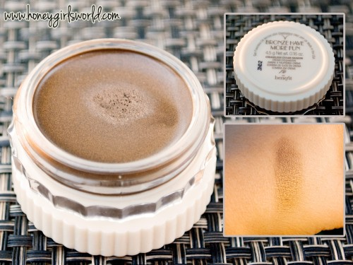 Benefit Creaseless Cream Shadow bronze have more fun 2