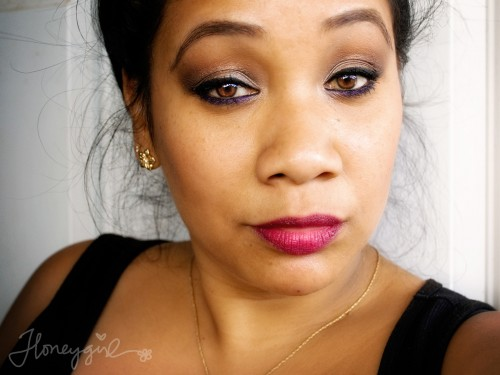 Benefit Creaseless Cream Shadow makeup look
