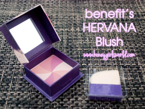 Benefits hervana blush and brush