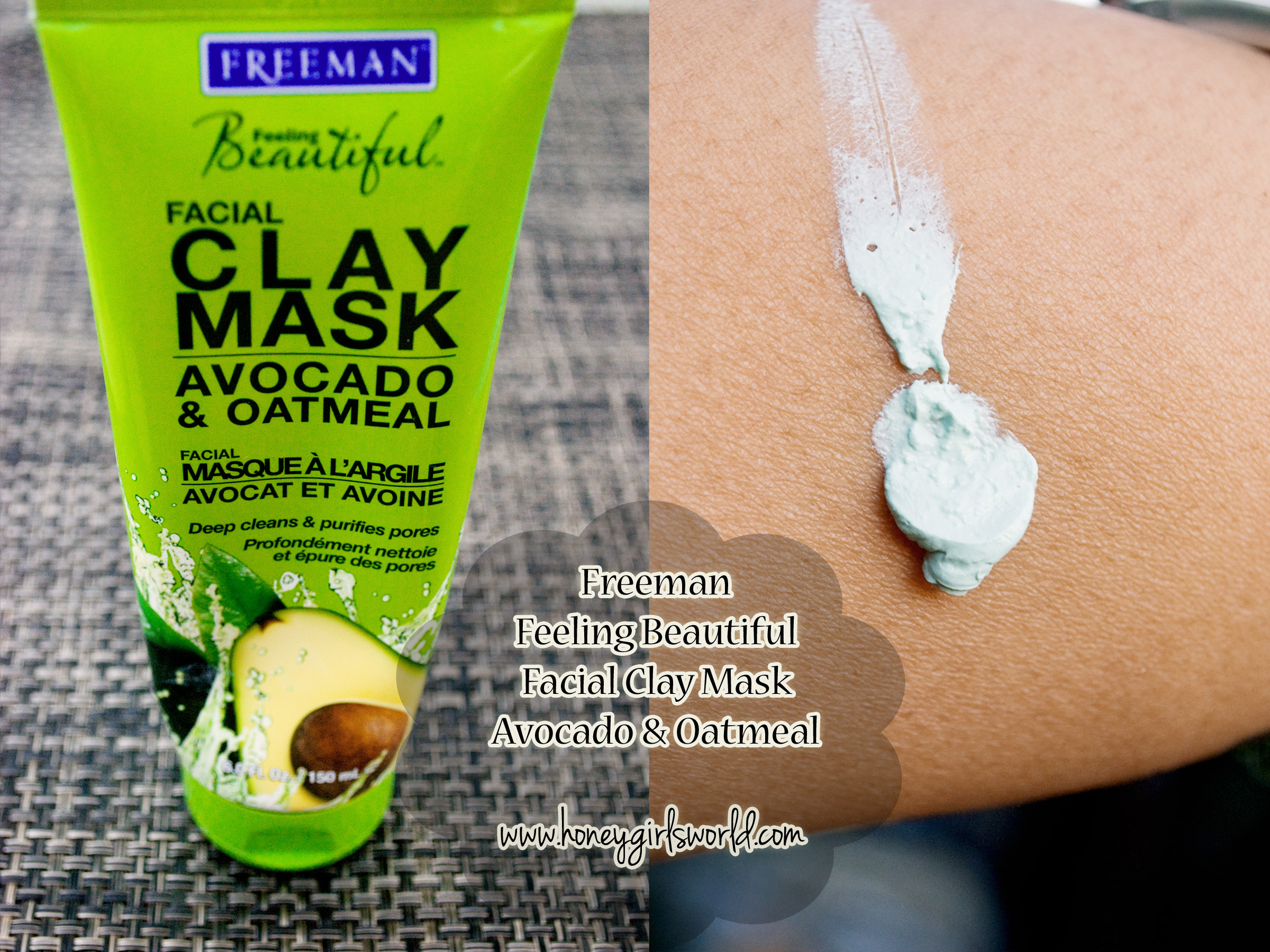 Freeman Avocado and Oatmeal Clay mask 2