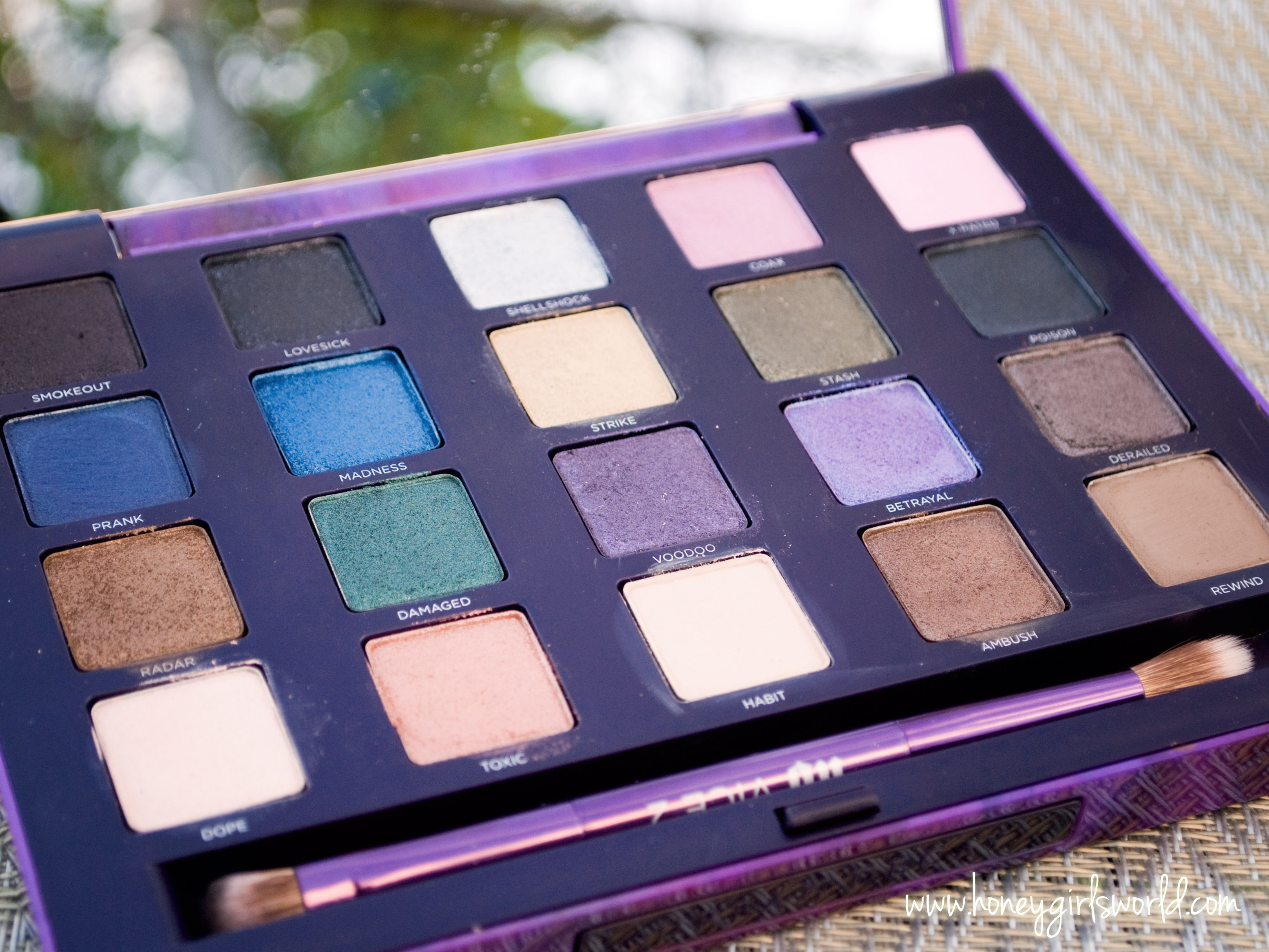 Kat Stays Polished | Beauty Blog with a Dash of Life ... |Urban Decay Palette 2