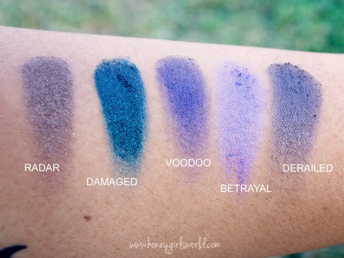 Urban Decay Vice 2 Palette Swatches - 3rd row