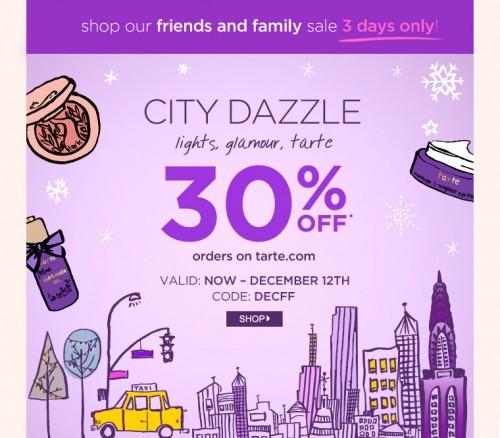 Tarte Friends & Family Sale