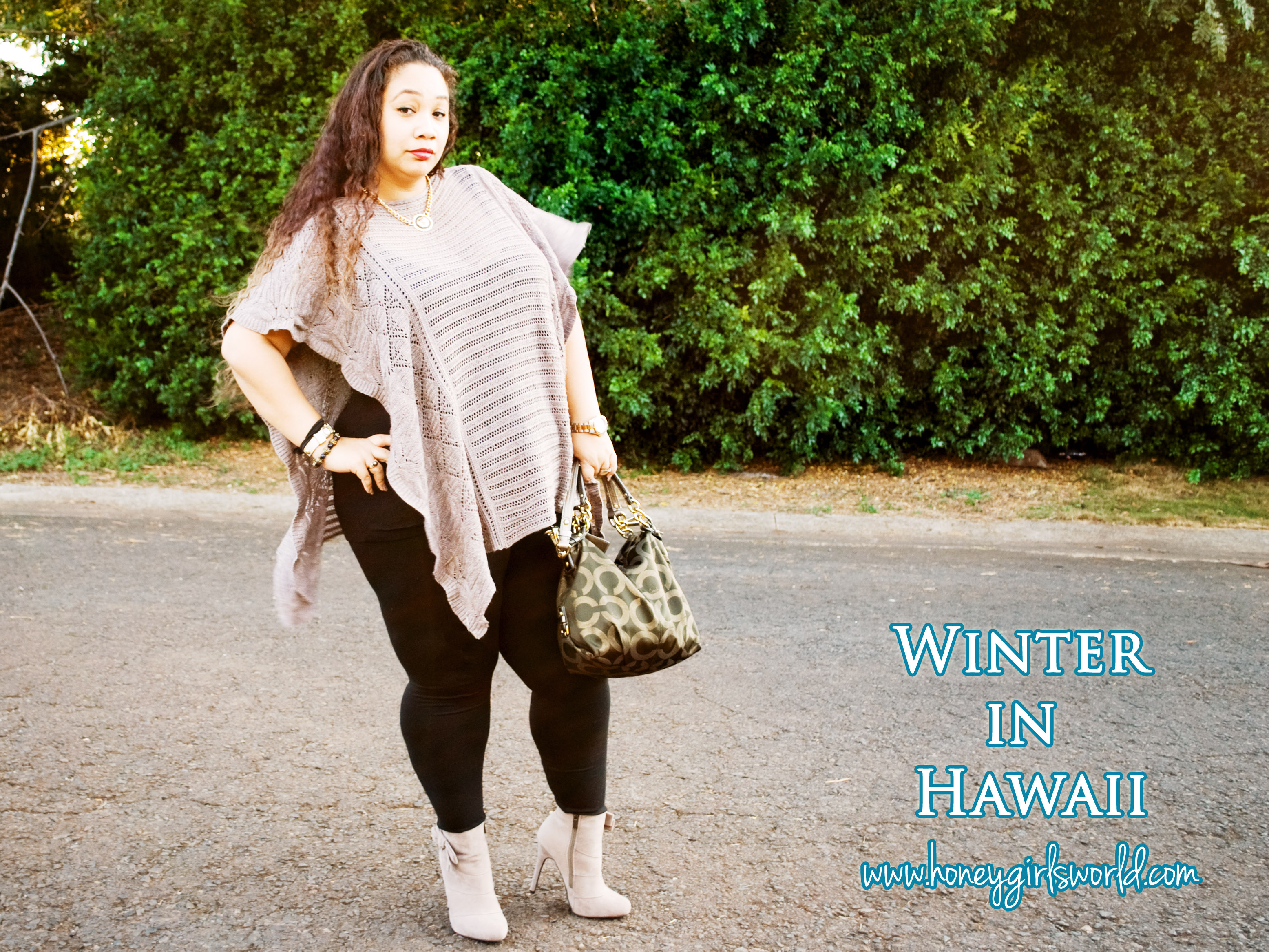 Winter in Hawaii – Plus Size Fashion & Style