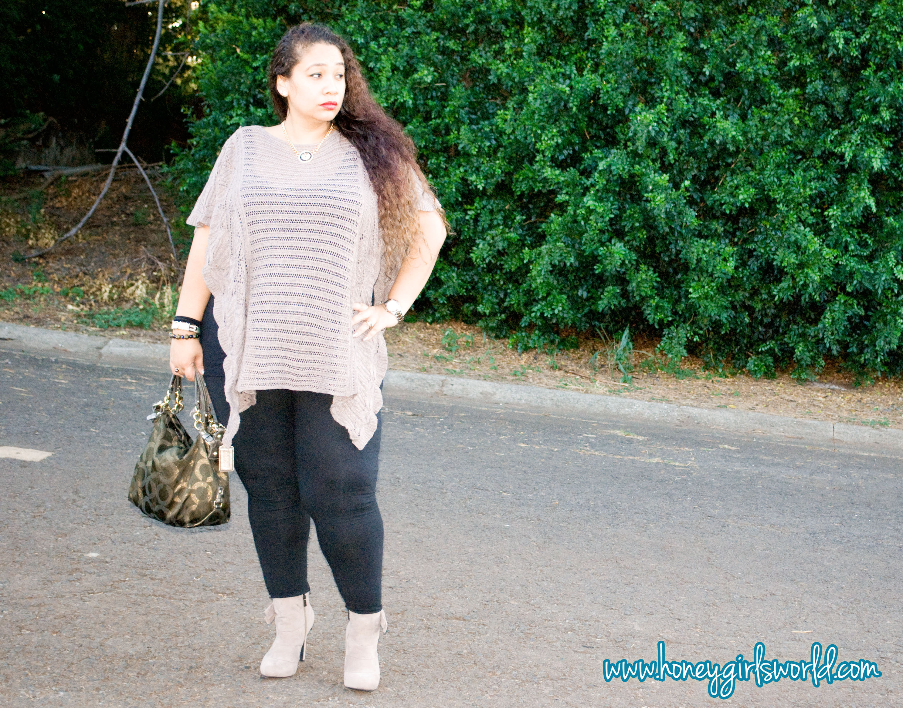 winter in hawaii plus sized outfit 4