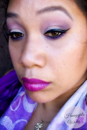 Radiant Orchid Makeup Look