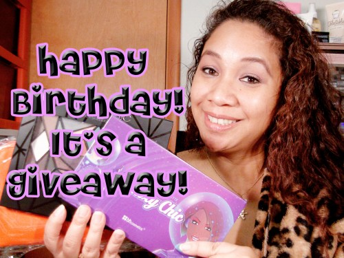 Happy Birthday Giveaway!