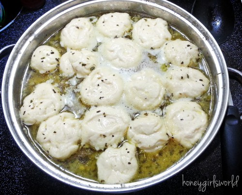 Homemade Chicken Soup with Dumplings