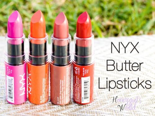 NYX Butter lipsticks 2
