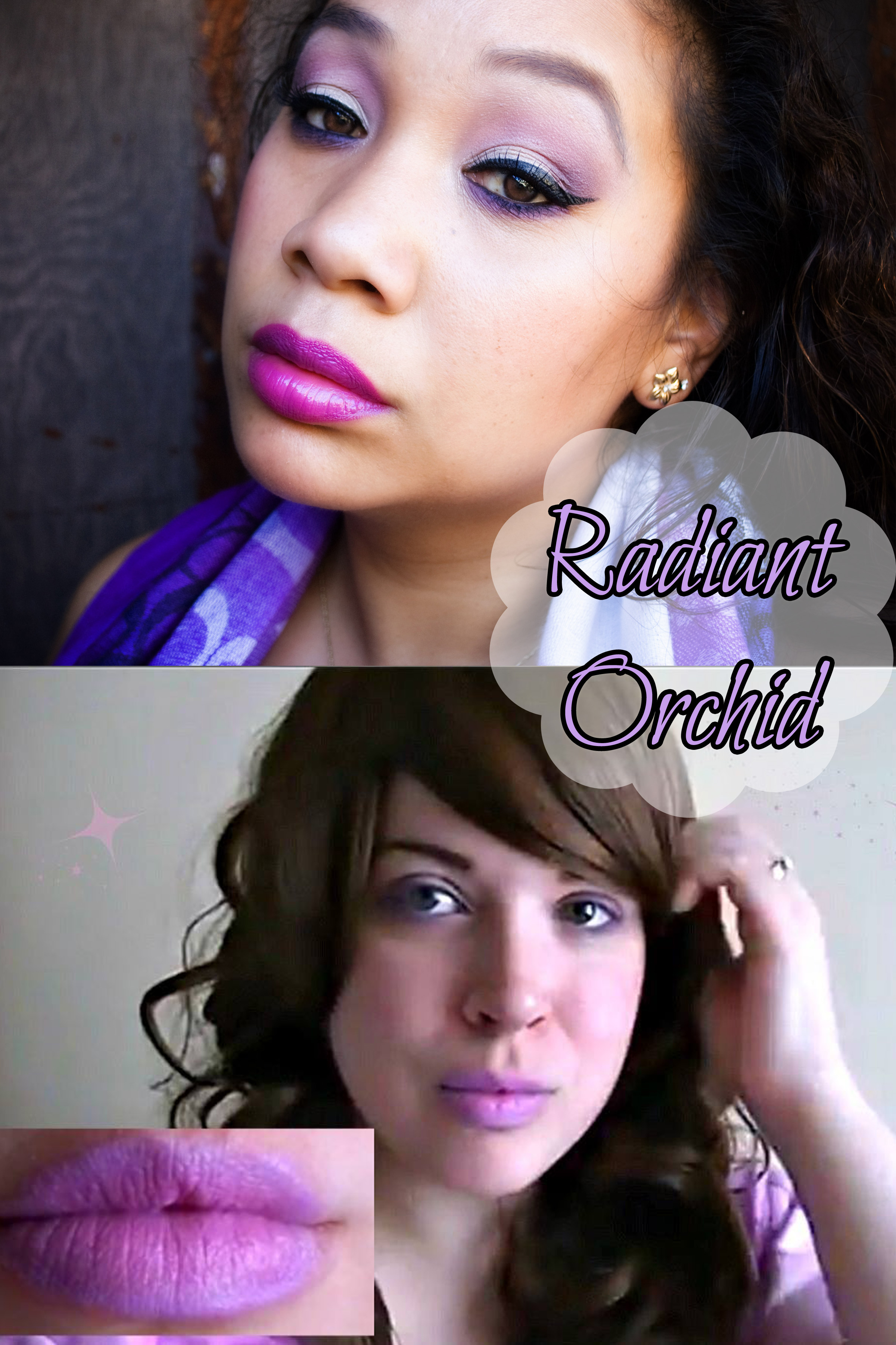 Radiant Orchid – Pantone Color of the Year 2014 Makeup Tutorial Collaboration