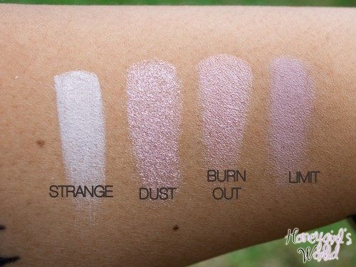 Urban Decay Naked 3 Palette Swatches 1