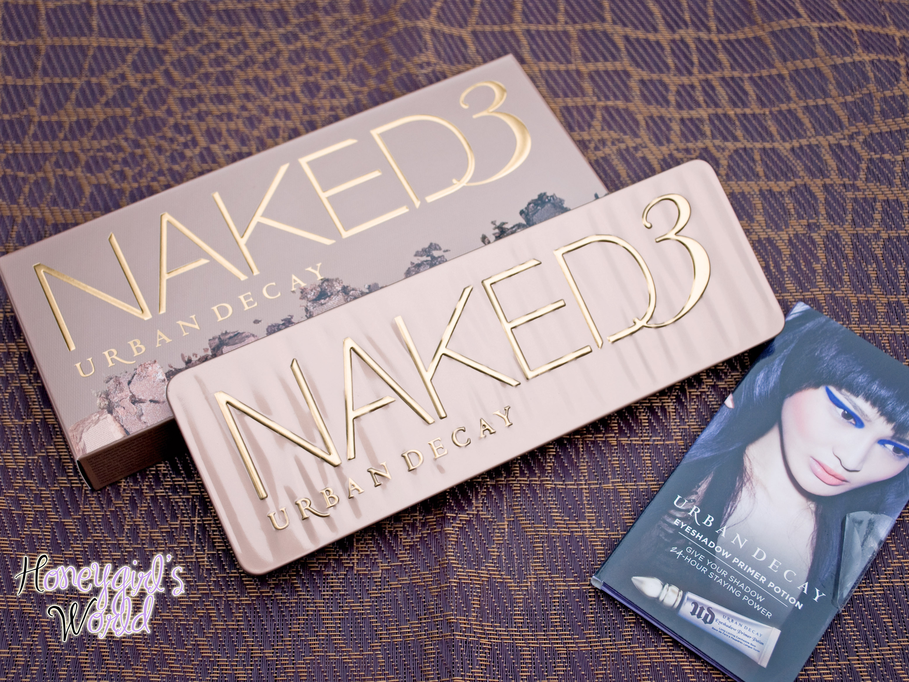 Urban Decay Naked 3 with Packaging