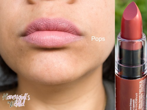 pops nyx butter lipstick swatch