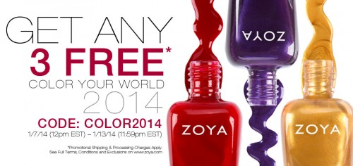 zoya polish discount color2014