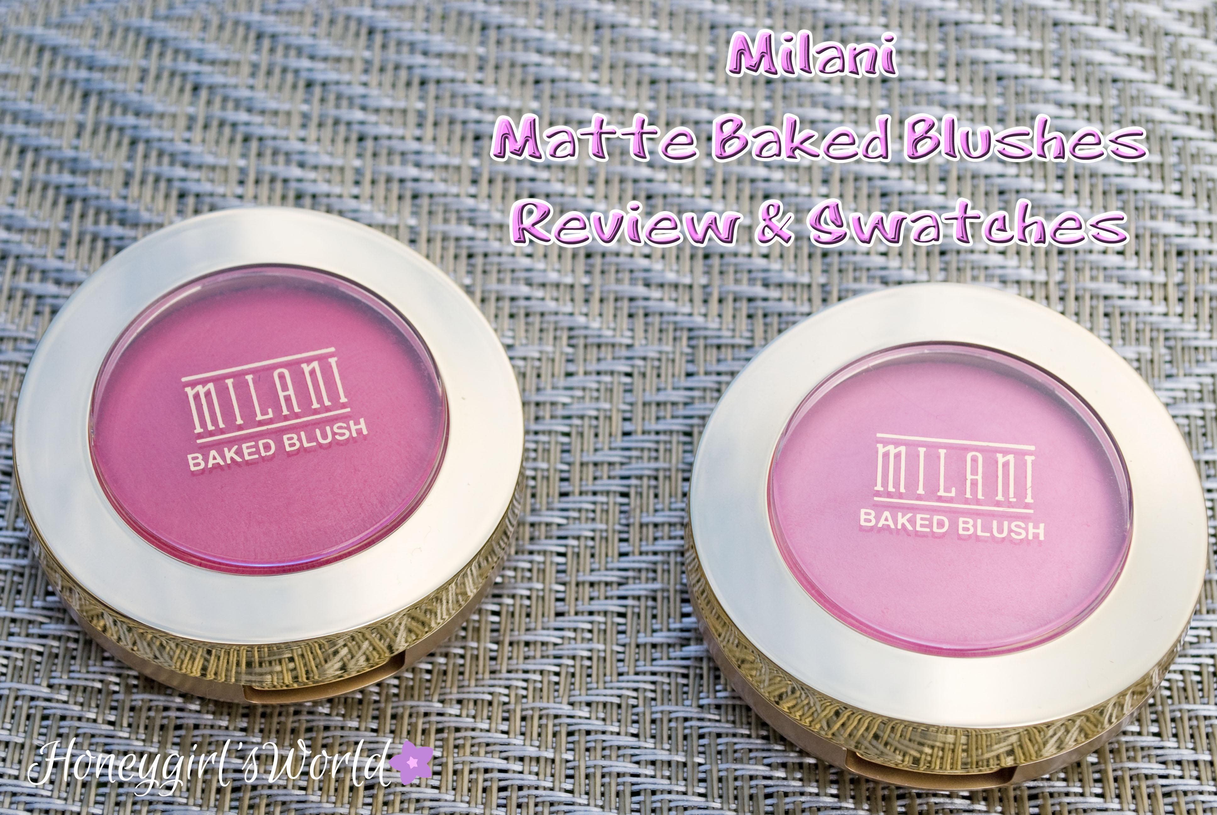 Milani Matte Baked Blushes