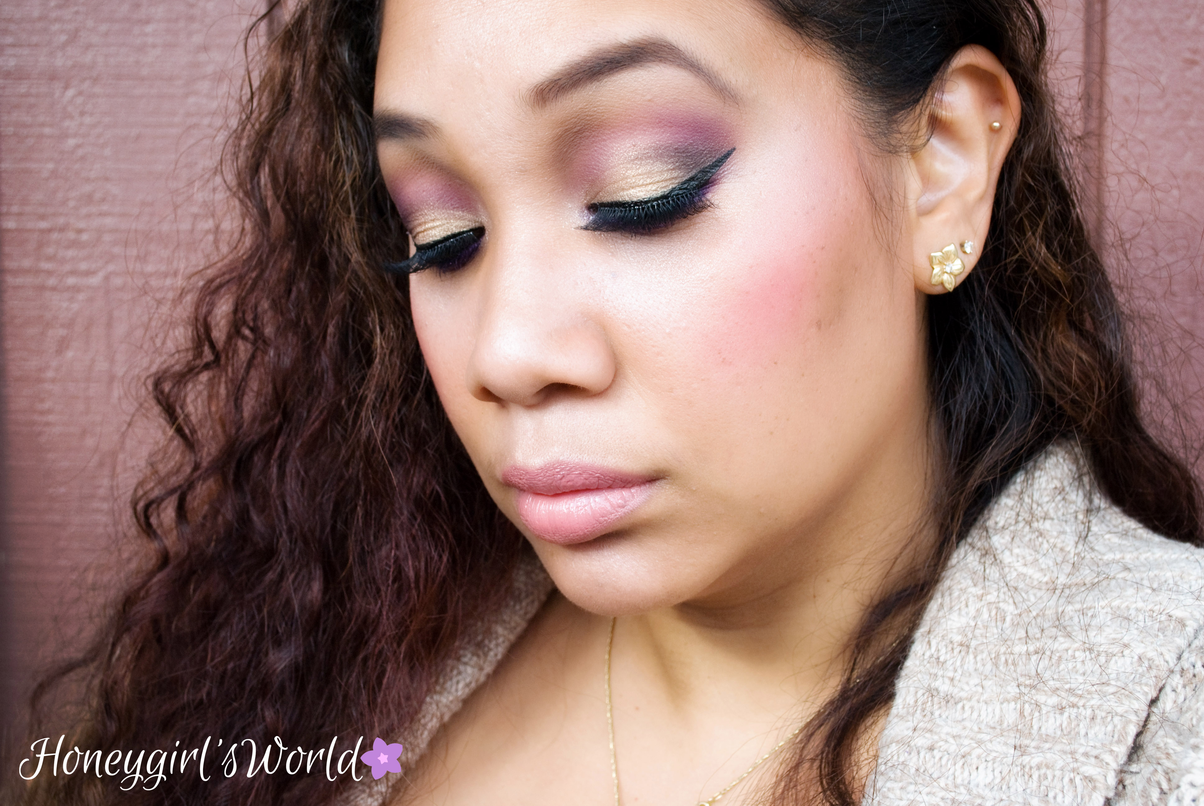 Honey Bella Rosa Makeup Tutorial