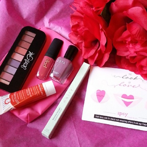 Ipsy February Glam Bag - The Look of Love
