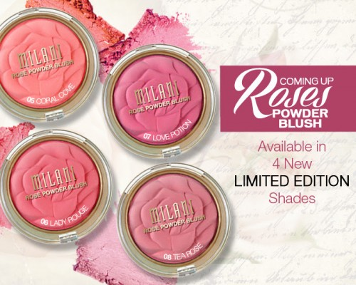 Milani Limited Edition Rose Blushes