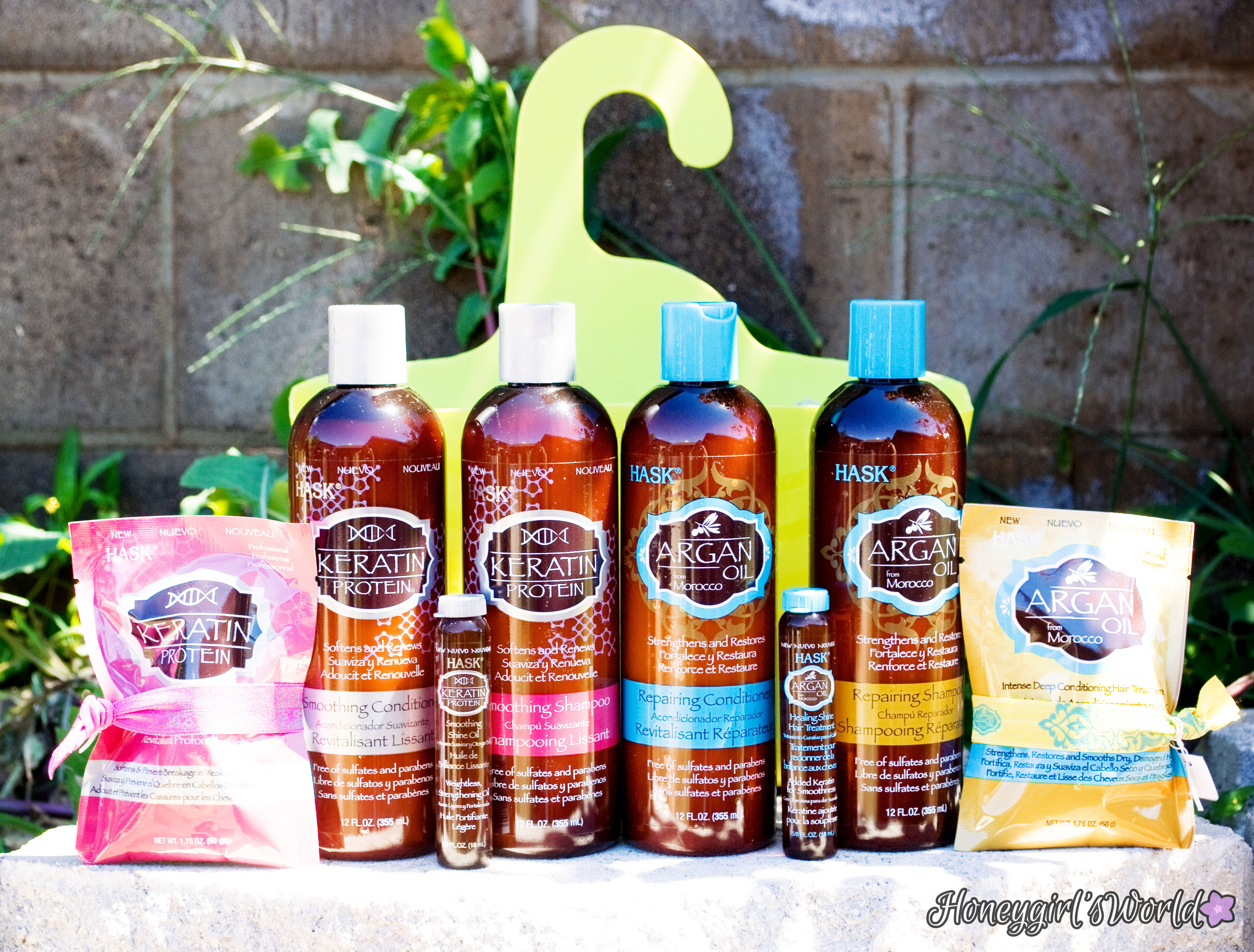 Hask Hair Products and Caddy