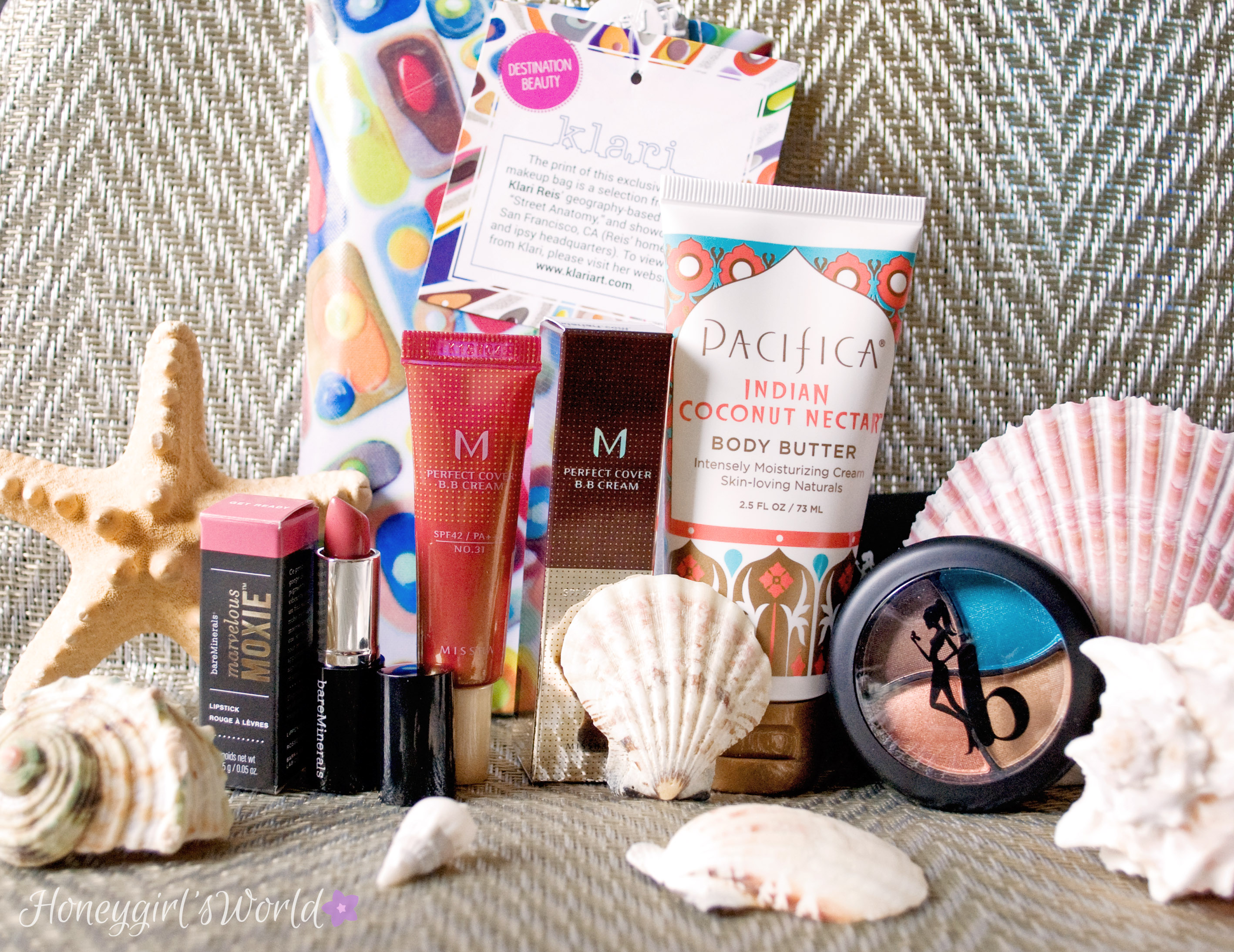 March Ipsy Glam Bag - Destination Beauty