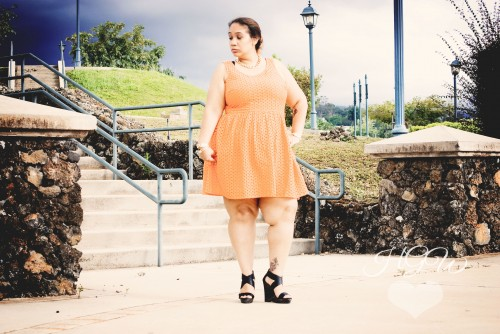 Spring Plus Size Outfit