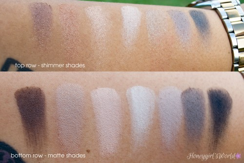 Smashbox Full Exposure Palette Swatches