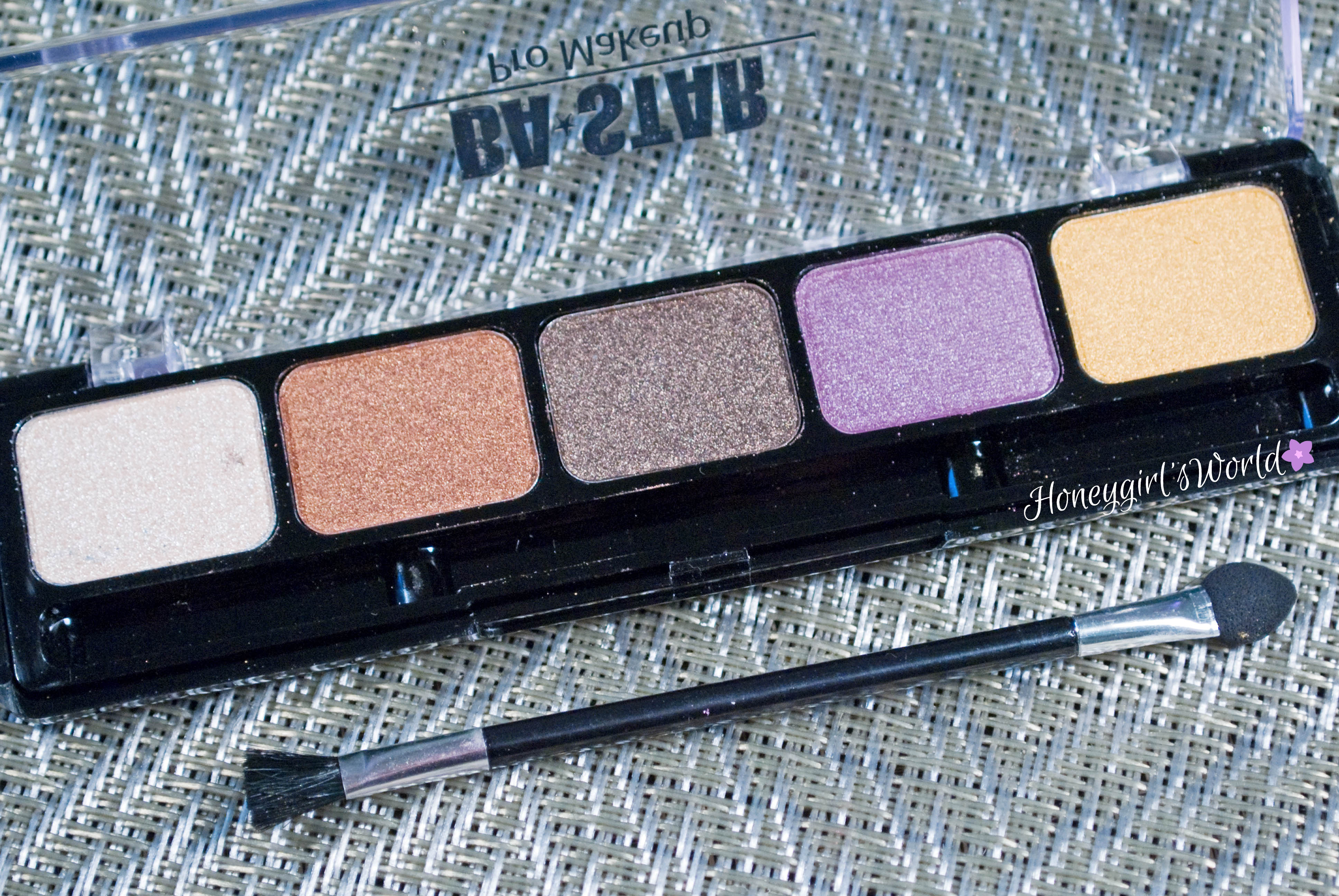 BA Star Eye Shadow Palette Spicy Natural