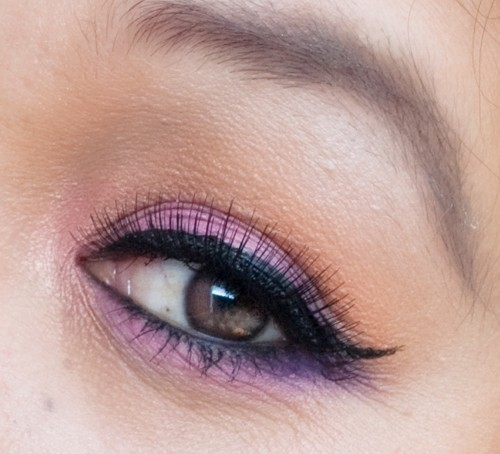 Spring/Summer Makeup look - Orange and Pink