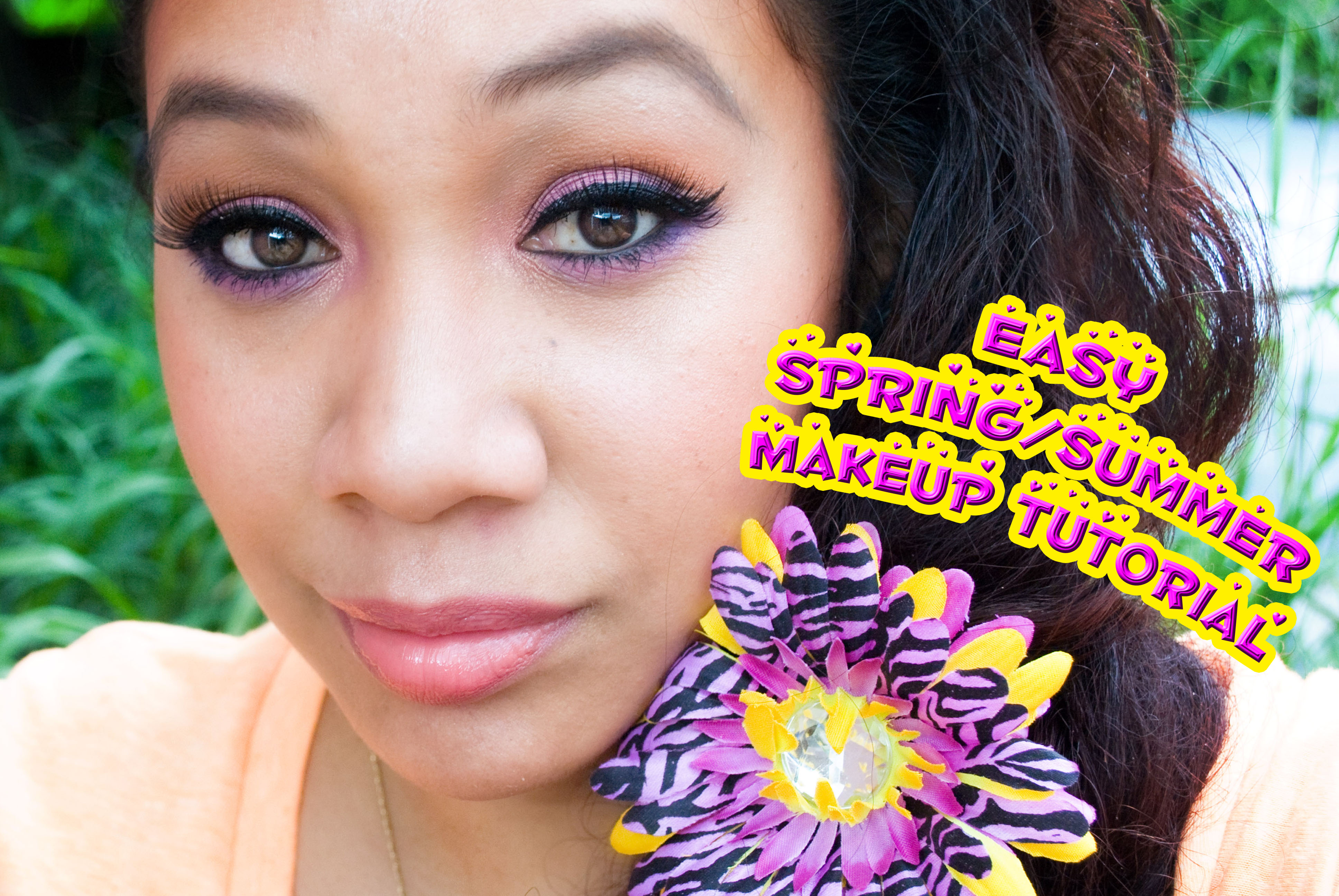 Spring/Summer Makeup Tutorial