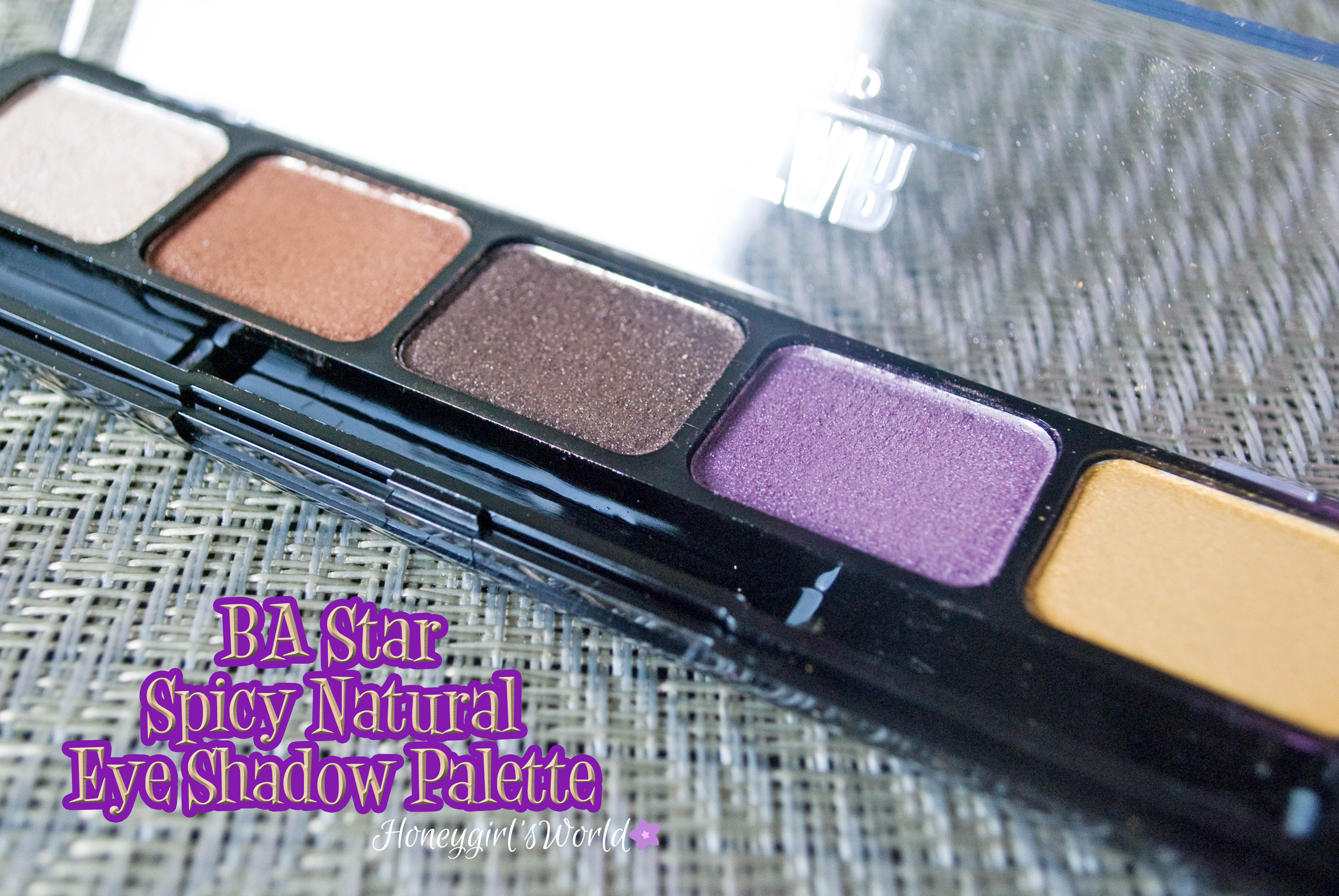 BA Star Eye Shadow Palette Natural