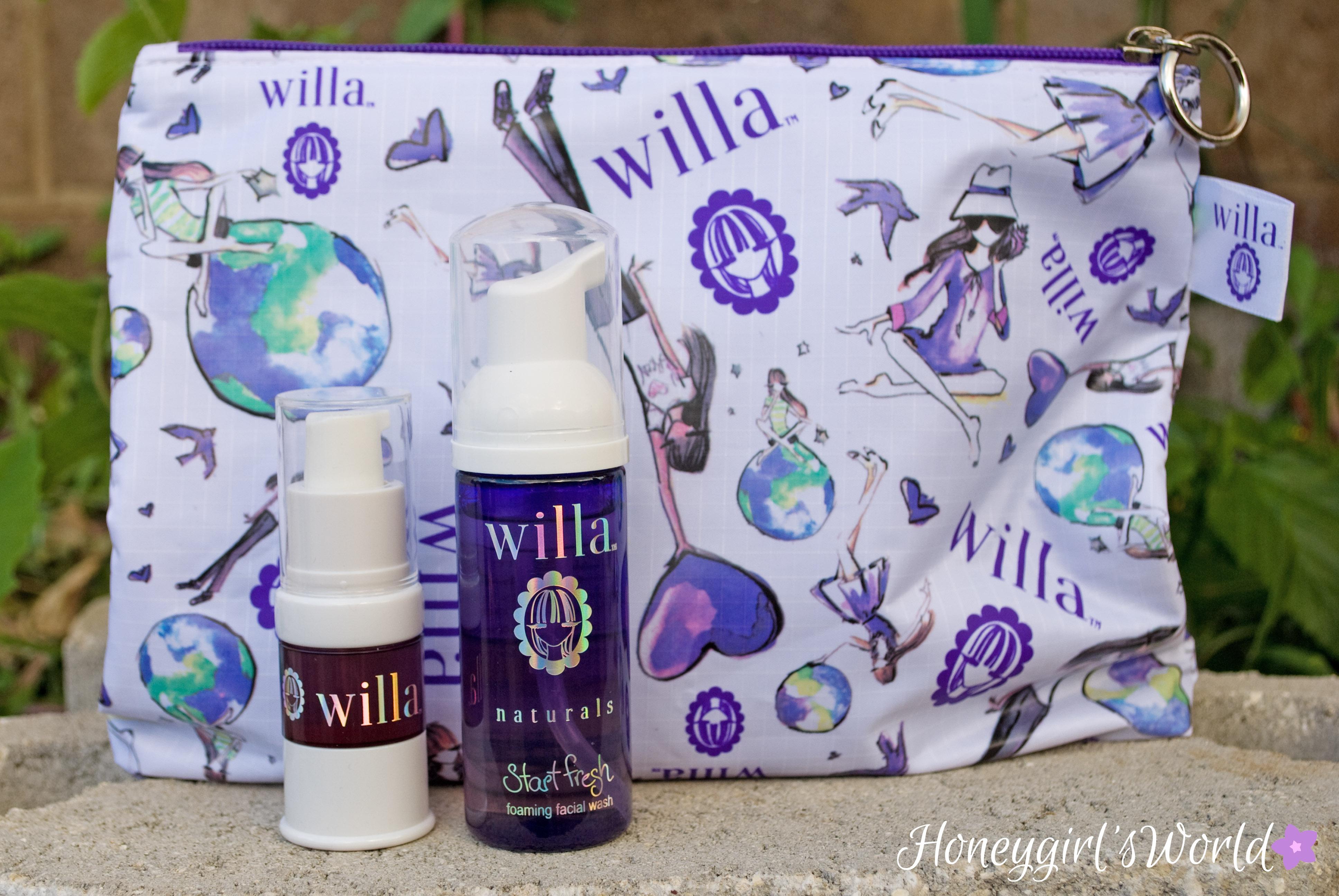 Willa Naturals Skin care
