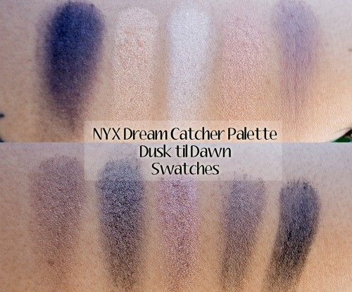 Dusk Til Dawn Swatches NYX