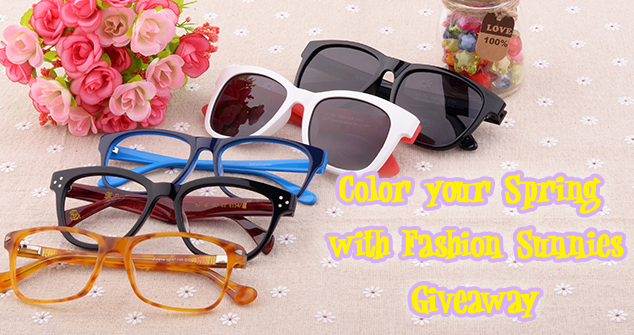 Color Your Spring with Fashion Sunnies Giveaway