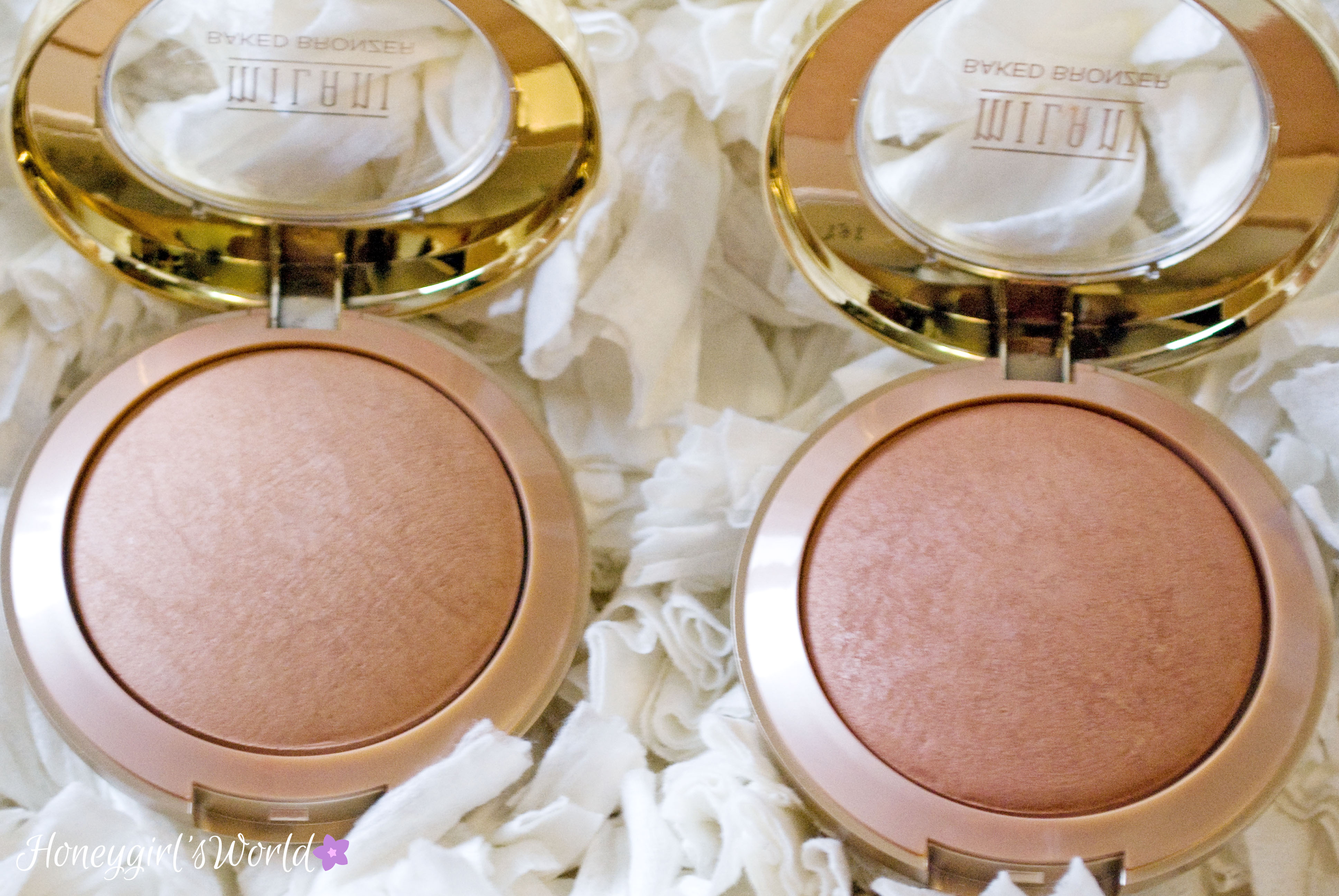Milani Limited Edition Matte Baked Bronzers