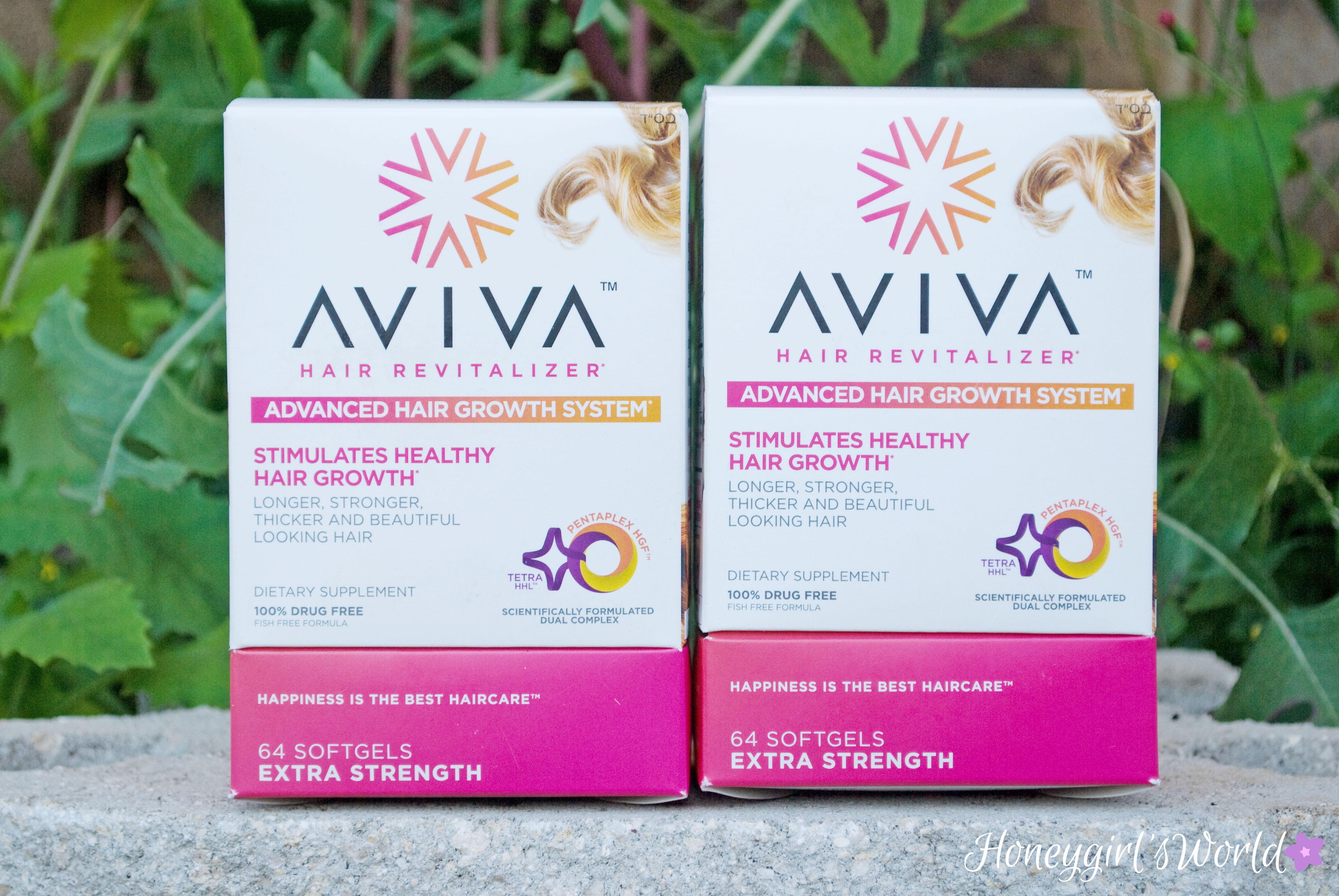 Aviva Hair Revitalizer Hair Growth Pill