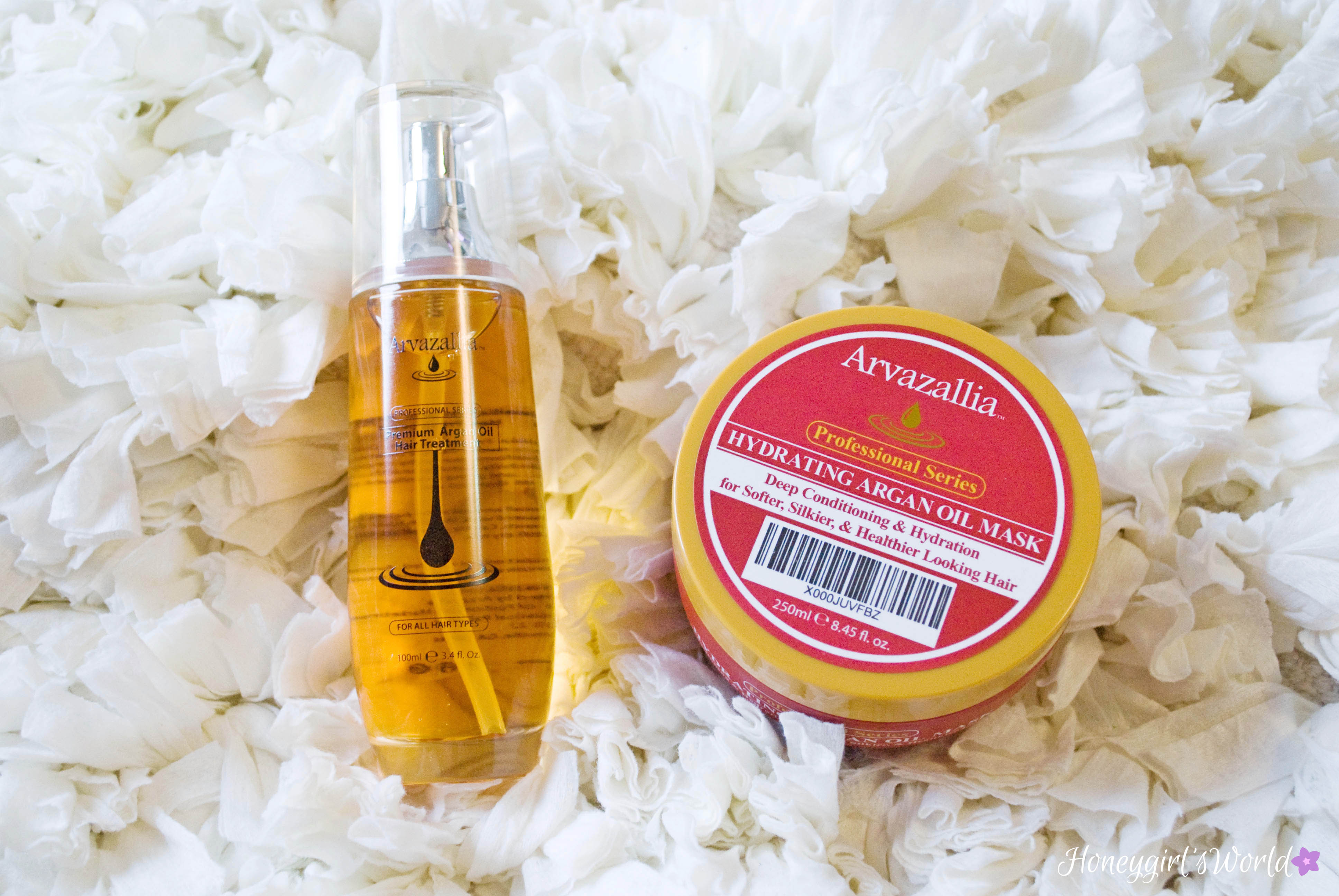 Arvazallia Professional Series Hydrating Argan Oil Treatments