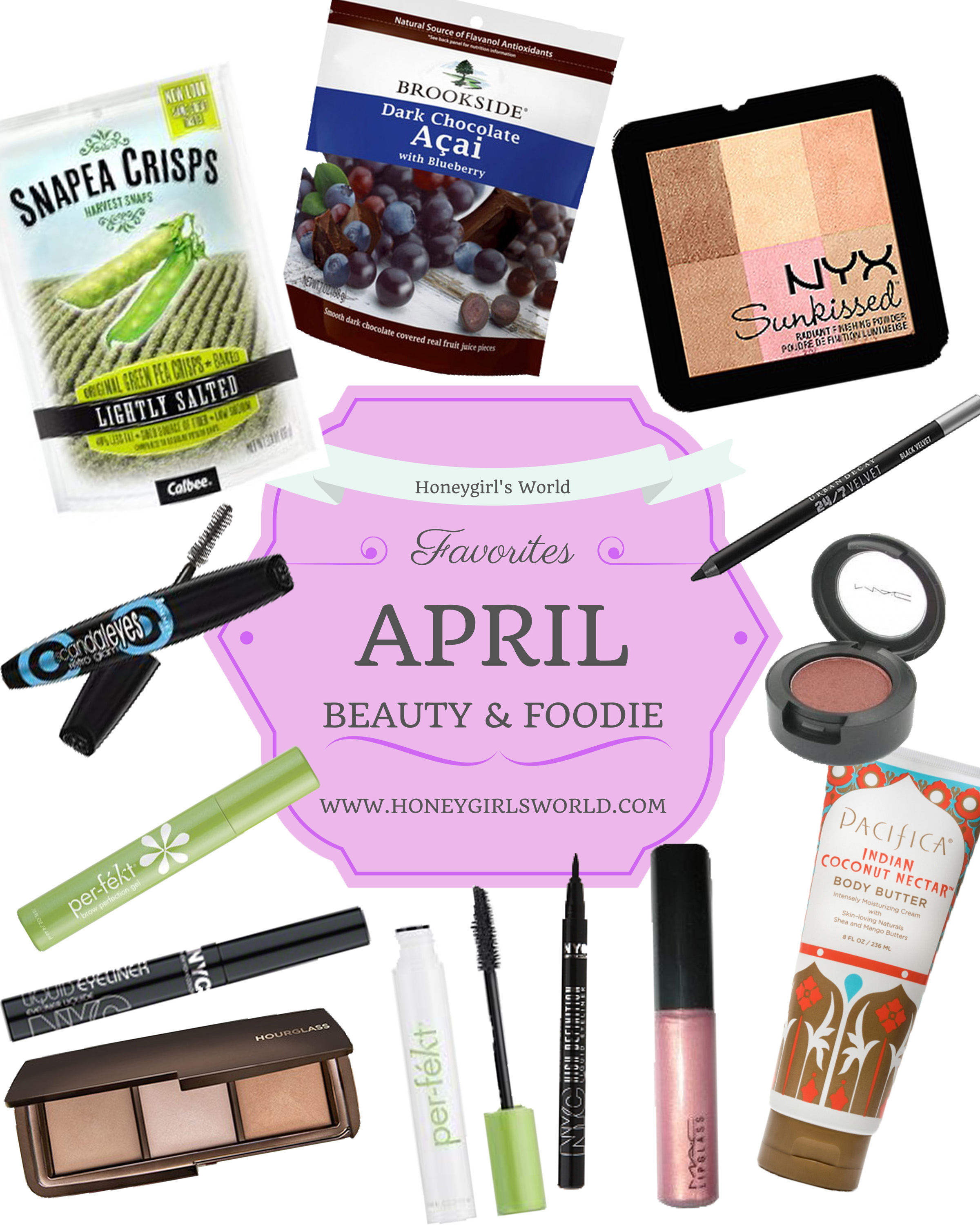 April Beauty and Foodie Favorites 2014