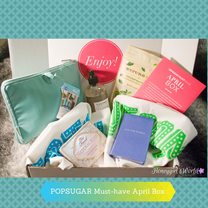 POPSUGAR Must-have April Box