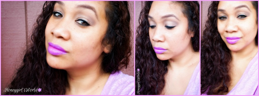 Melted Violet lipstick Too Faced
