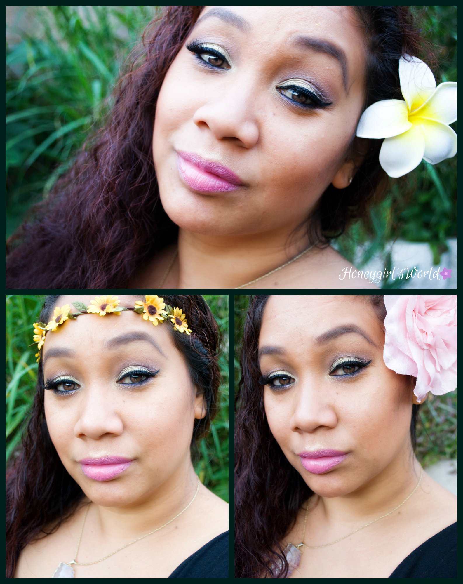 The Secret Garden inspired Makeup using Ipsy Glam bag
