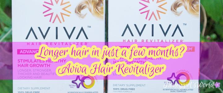 Longer, Stronger, Thicker, Beautiful Hair?  Aviva Hair Revitalizer