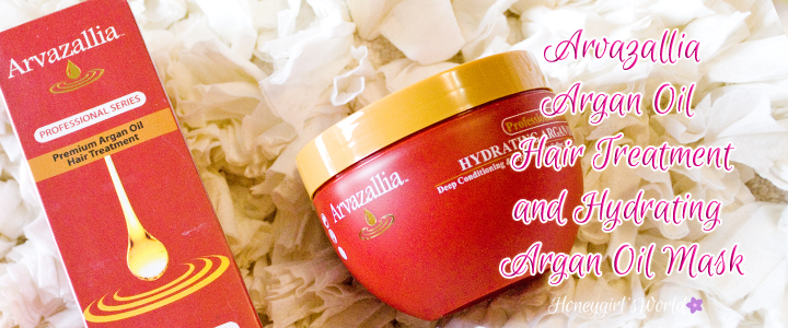 Healthier Hair with Arvazallia Professional Series Argan Oil and Mask Review