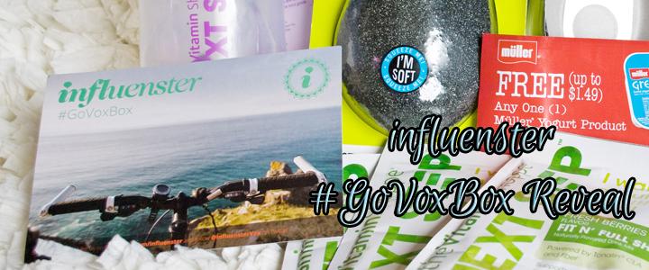 Influenster Voxbox – #GoVoxBox Reveal