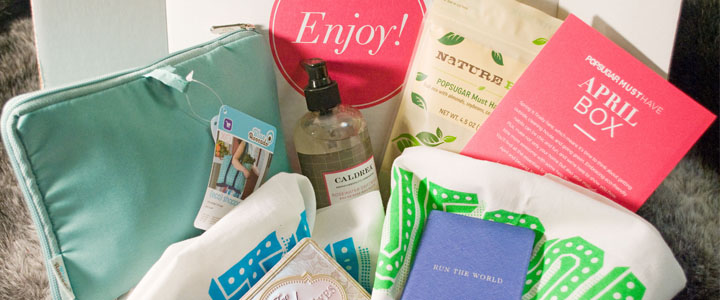 POPSUGAR Must Have Box – April 2014