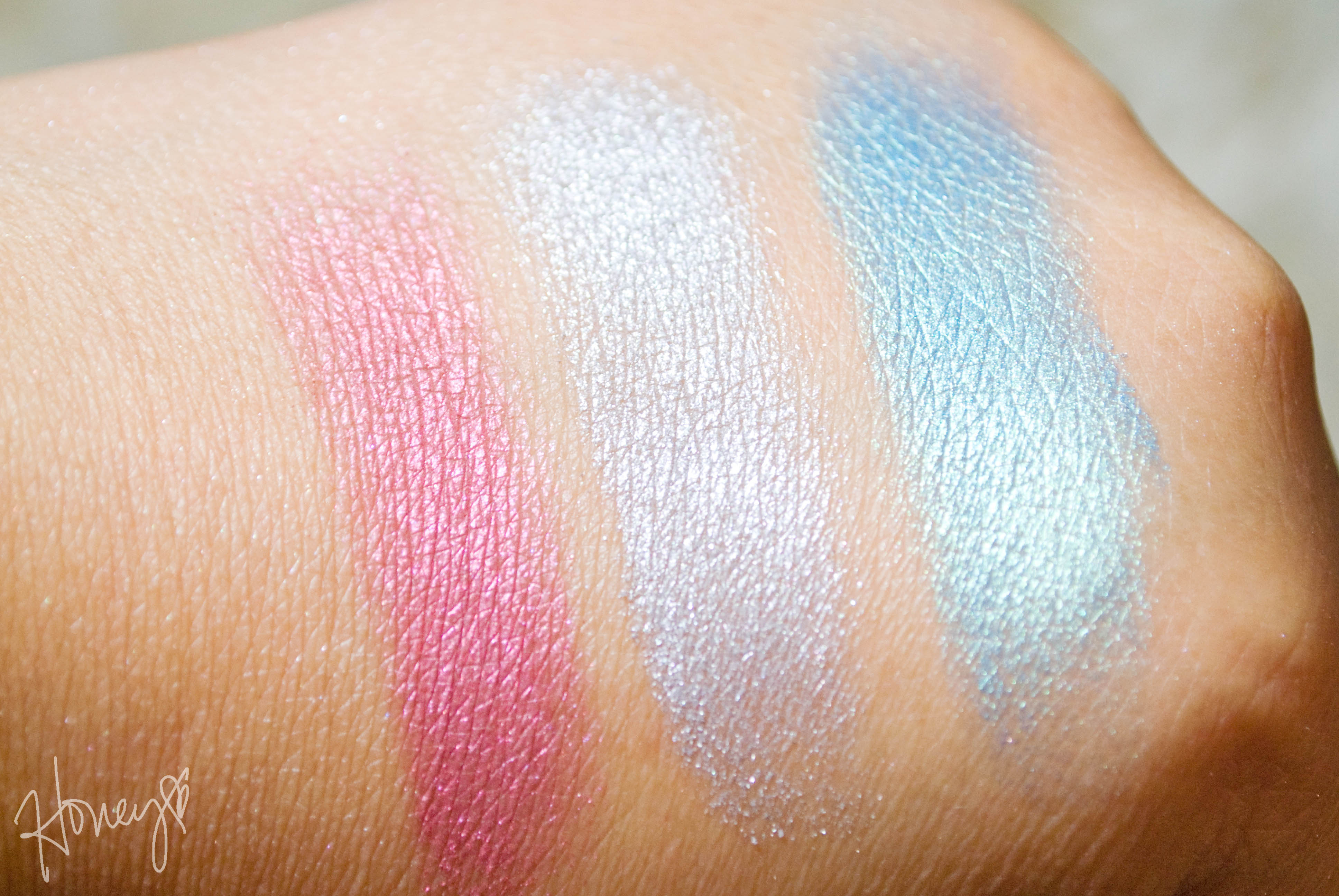 Bella Rouge, Bella Silver, Bella Teal Swatches
