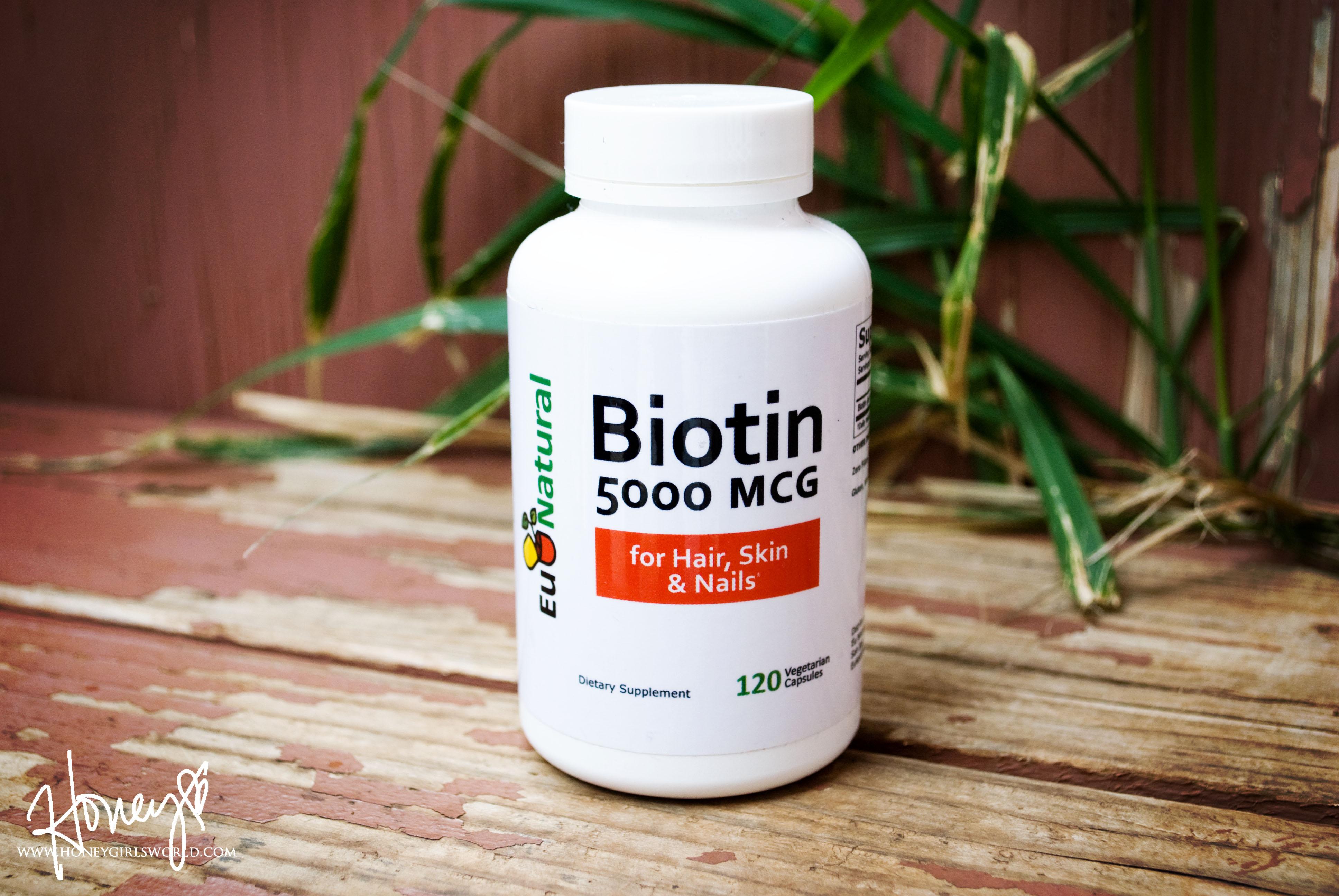 Eu Natural Biotin 5000 MCG